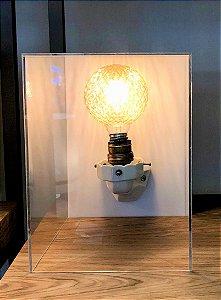 Luminária de Mesa Decô
