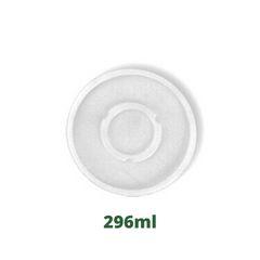 Tampa plástica p/ copo de isopor 296 ml pacote c/ 100 und - Darnel