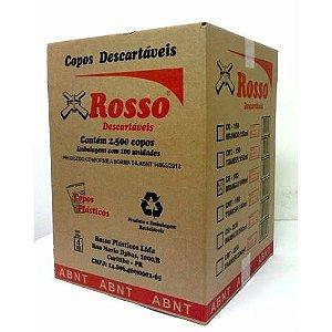 Copo descartável 180 ml branco (caixa com 2.500 unidades) - Rosso