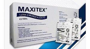 Luva cirúrgica látex com pó - Maxitex