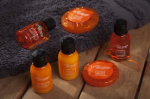 Kit amenities D´Orange - Realgem´s