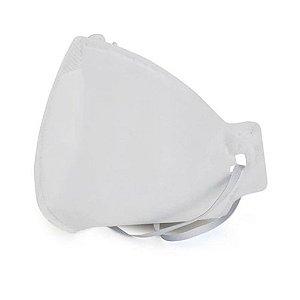 Máscara de Proteção Respiratória sem válvula N95 PFF2 - Neve