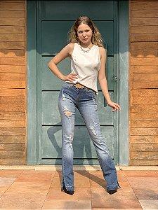 Calça jeans bostore boot cut - 36