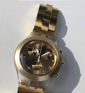 Relógio Swatch Fullblooded Caramel