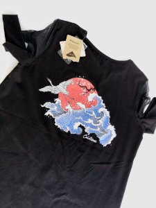 """T-shirt  """"Ondas"""""""