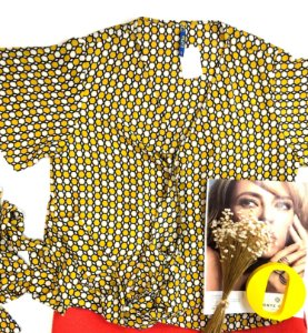 Blusa estampada envelope