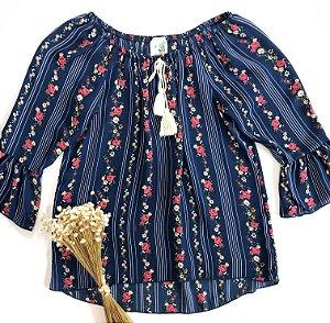 Blusa Lily Bleu
