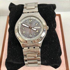 Swatch - relógio prateado