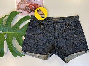 Short jeans preto - 40