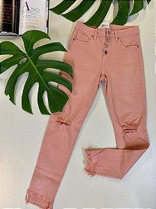 Calça jeans rosa - 40