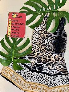 Vestido animal print - M
