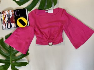 Cropped rosa - 36