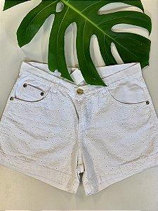 Short jeans em lese - 38