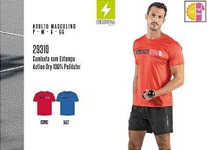 Camiseta Masculina Endorfina Dec. Red. c/ Estampa
