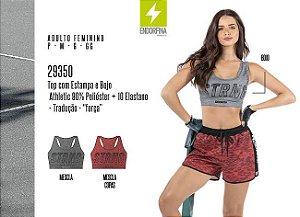 Top Feminino Endorfina c/ Estampa e Bojo