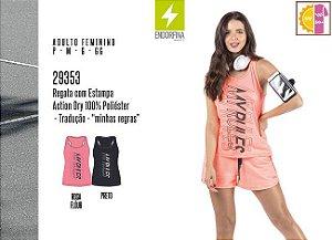 Regata Feminina Endorfina c/ Estampa
