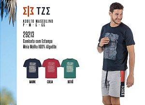 Camiseta Masculina TZE c/ Estampa