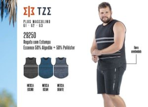 Regata Masculina TZE Plus c/ Estampa