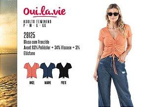 Blusa Feminina Oui.la.vie c/ Franzido