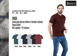 Camisa Polo Piquet Bordado TZE