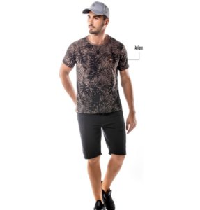 Camiseta Estampa Floral No Stress