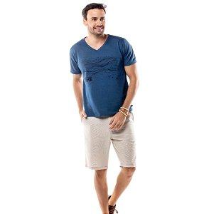 Camiseta Estampa Linhas TZE