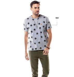 Camiseta Estampa Coqueiros TZE
