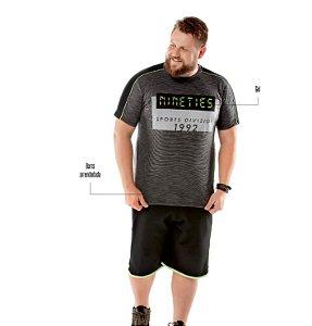 Camiseta Recorte Ombros Plus TZE