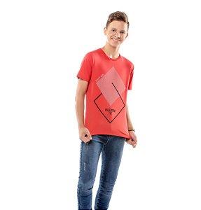Camiseta Estampa Geométrica Menino TZE