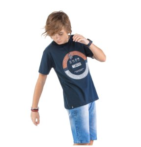 Camiseta Estampa Logo Menino No Stress
