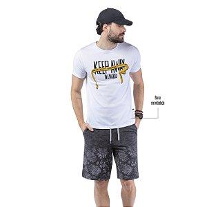 Camiseta Estampa KEEP AWAY TZE