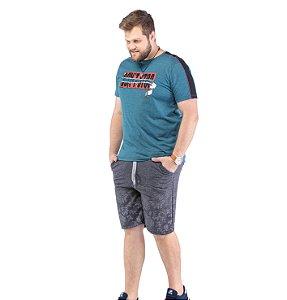Camiseta Recorte Ombro Plus TZE