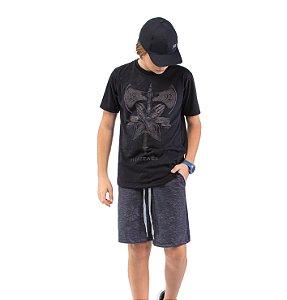 Camiseta Estampa Efeito Desgaste Menino TZE