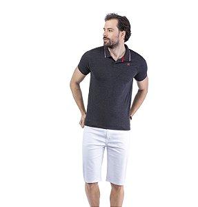 Camisa Polo Estampa Logo TZE