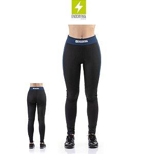 Calça Legging com Estampa e Recorte Endorfina