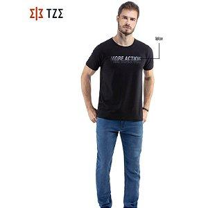 Camiseta Cotton com Estampa Gel TZE