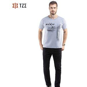 Camiseta com Estampa TZE