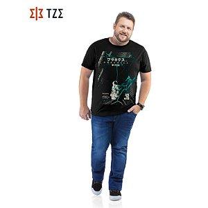 Camiseta com Estampa TZE Plus