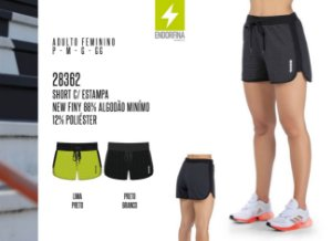 Short Feminino Endorfina c/ Estampa