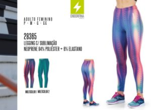 Legging Feminina Endorfina c/ Sublimação