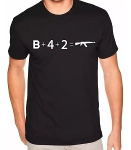 Camiseta Counter-Strike - CS:GO B+4+2=AK-47