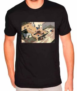 Camiseta Counter-Strike - Dust 2 32 BITS