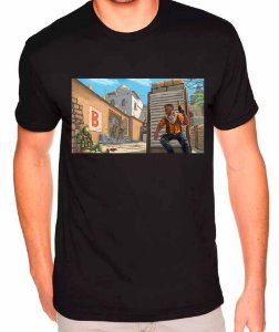Camiseta Counter-Strike - Dust2