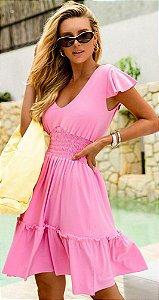 Vestido Dorothea rosa