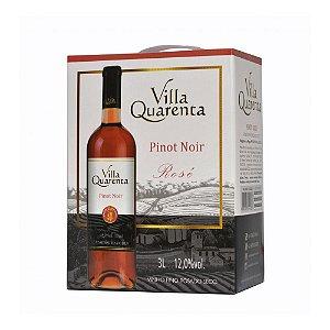 Villa Quarenta Bag in Box Rosé Pinot Noir Três Litros - 3 litros