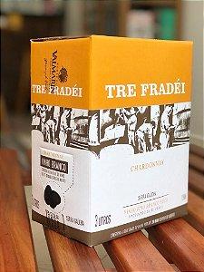 Valmarino Bag In Box Três Litros Vinho Branco Chardonnay Tré Fradei