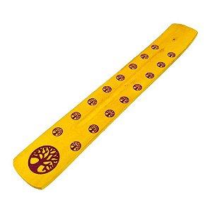Incensário Régua Amarelo