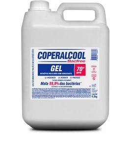 Coperalcool Bacfree Gel 70 INPM - Bombona de 4,3 KG