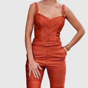 Macacão Feminino Tropical Fashion REF.:8406B