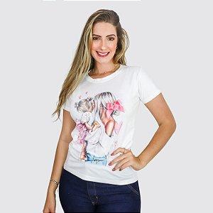 Blusa F T-shirt Estampada Milnebay REF.:T01